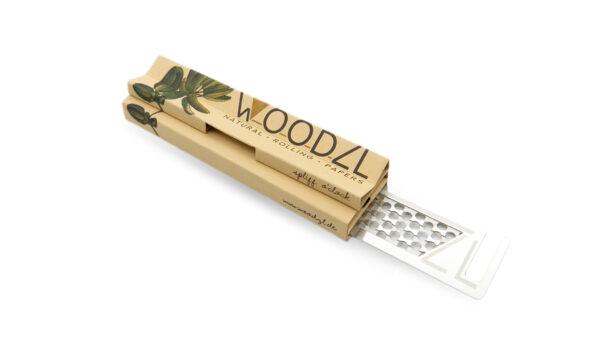Woodzl Longpapers mit Grinderkarte