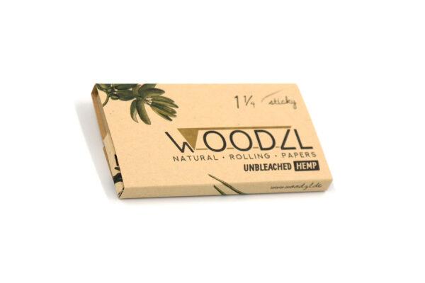 Woodzl 1 1/4 Sticky Papes, ungebleicht, Draufsicht