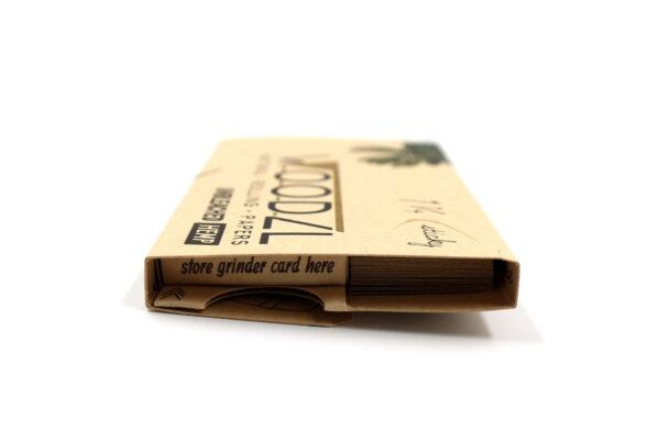 Woodzl 1 1/4 Sticky Papers, ungebleicht, Seite