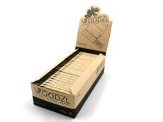 Woodzl 1 1/4 Sticky Papers, ungebleicht, Vorratsbox mit 24 Stück